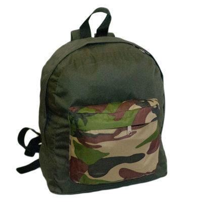 Рюкзак зеленый камуфляжный